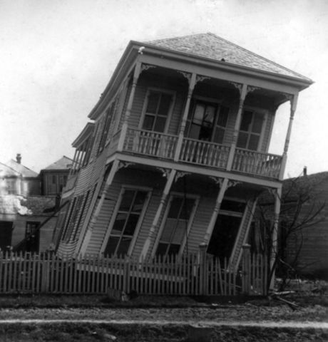 (6) Galveston, Texas Hurricane