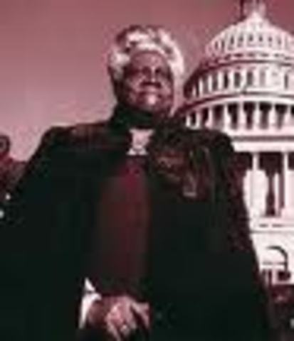 (4) The First Negro Girl's School is established by Mary Mcleod Bethune