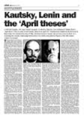 april theses russia This week in the russian revolution april 17-23: lenin issues april theses 17 april 2017.