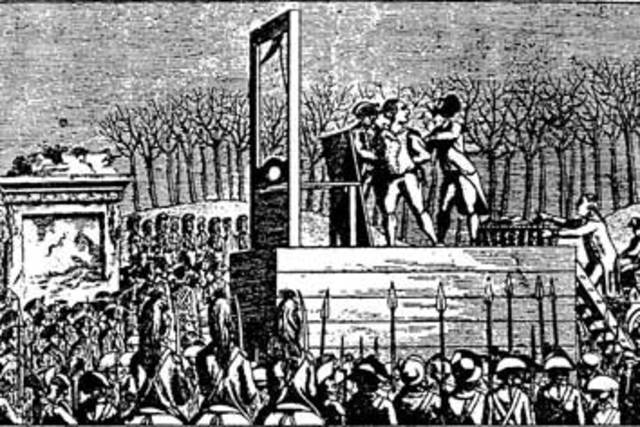 the justification of the reign of terror during the french revolution During the french revolution,  however i would also like to mention that another justification of the reign of terror would be the adherence to roseau.