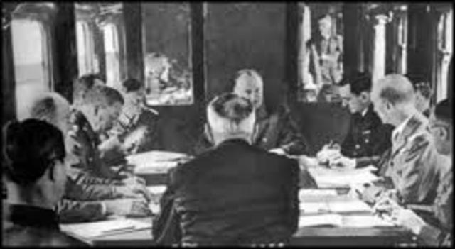 armistice nazi germany and gus After the fall of france in 1940 and the armistice between france and nazi germany, the british war cabinet was apprehensive about the germans acquiring control of.