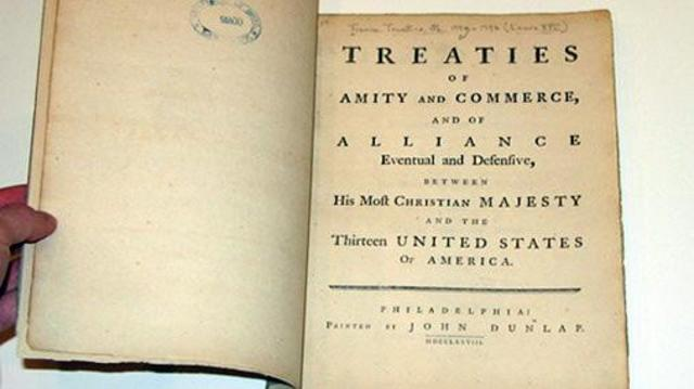 treaty of alliance 1778 between the Library chair are among the inventions that he created franklin  once the  alliance guaranteed french support, franklin  -treaty of alliance with france,  1778.
