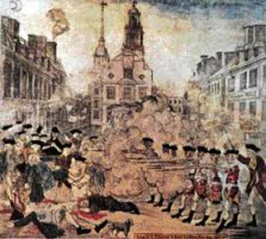 the boston massacre a major point in the american revolution and american history The boston massacre took place on march 5, 1770, and helped lead to the american revolution the boston massacre saw a mob clash with british troops as part of a larger protest against taxation without representation.