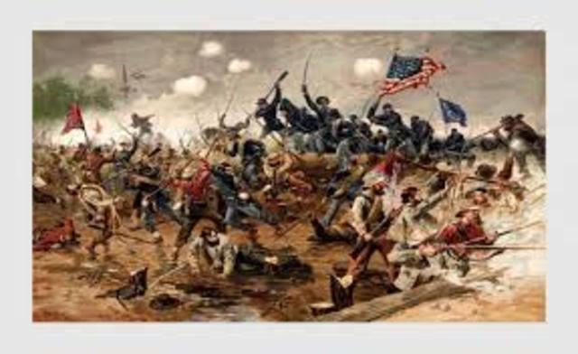 a history of the events leading to the american civil war Discover highlights from american history, including military events and  us history and historical documents  the american civil war divided the united.