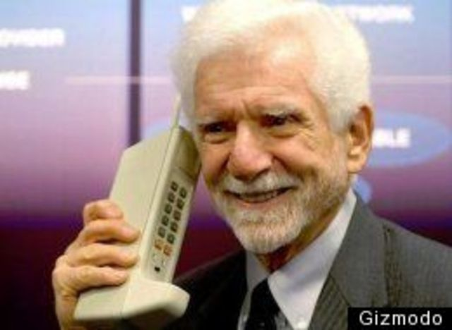 Martin Cooper -- Father of the Cell Phone; hired by Motorola
