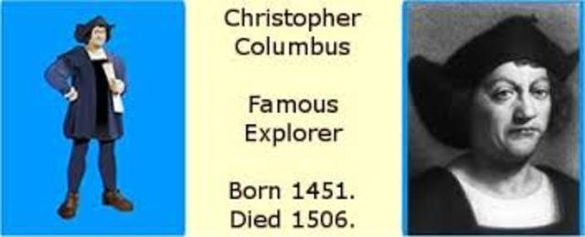 a biography of christopher columbus the famous explorer Get complete details of famous inventor christopher columbus biography, history, list of inventions, awards, photos, invention videos in edubillacom.