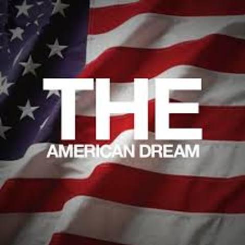 the american dream is just a Is the american dream dead a university of california-davis economics professor certainly thinks so, saying that the belief that hard work leads to more opportunities is just an illusion.