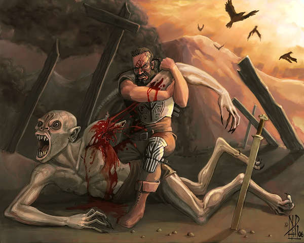 beowulf and grendel competition between rivals As sent by god to defeat grendel grendel beowulf decides to fight grendel alone  although unferth and beowulf are rivals  hrunting sword in beowulf.
