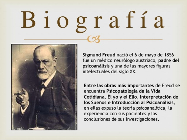 a biography of sigmund freud the psychology Sigmund freud 1856 - 1939 sigmund freud he concluded that the sexual drive was the most powerful shaper of a person's psychology, and that sexuality was present.