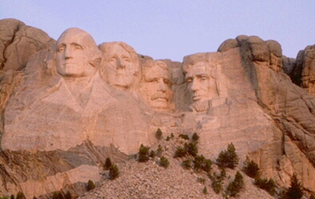"Mount Rushmore was ""completed"""