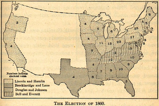 Election of 1860 essay to civil war