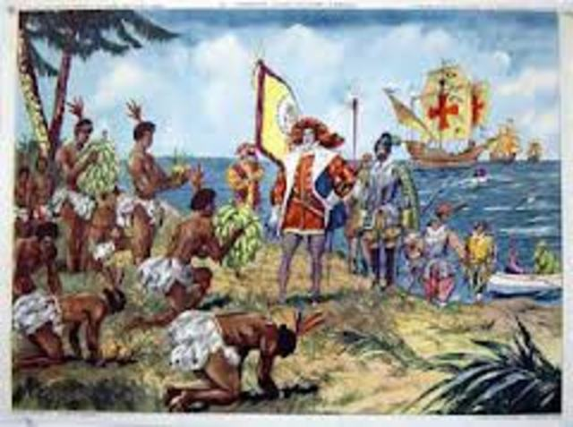 the planned discovery of christopher columbus on october 13th 1492 Christopher columbus and the new world in 1492, italian explorer christopher columbus was commissioned by king ferdinand ii and queen isabella i of spain on a mission to find a westward route to asia.