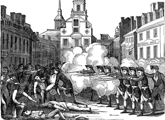 Boston massacre date