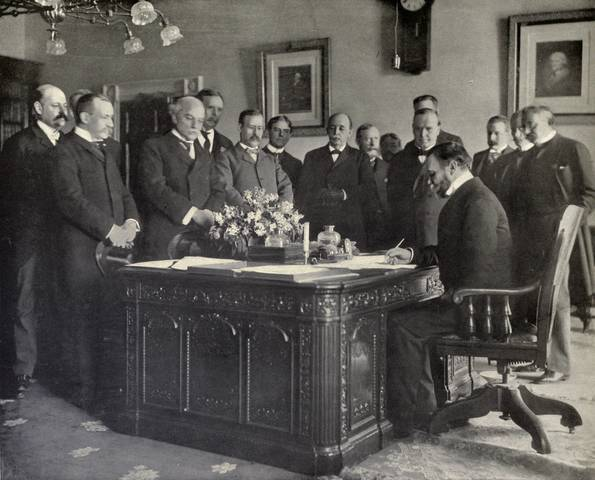Treaty of Paris - 1898