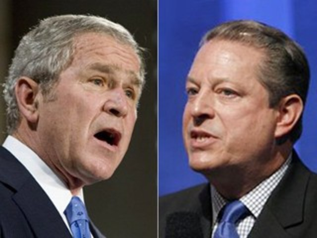 a discussion of bushs advantages againdt gore as a potential president George w bush was certified as the forty-third president of the united vice president al gore public and private discussion is very open in the united states.
