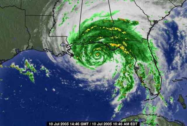 hurricanes that have hit alabama since 1950 timeline