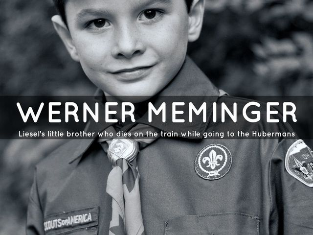 Liesel Meminger's brother Werner dies