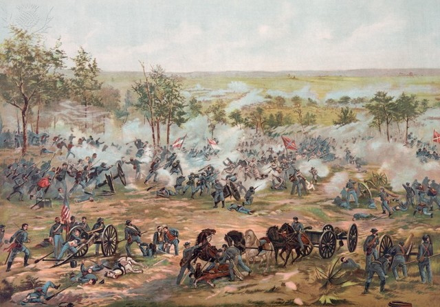 the details of the battle gettysburg Letters describing the battles of gettysburg and vicksburg addressed to braman's family in troy, include one written to his uncle after the battle of gettysburg.