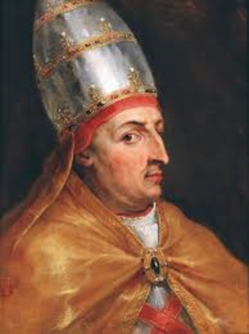 Pope Alexander VI issued an edict