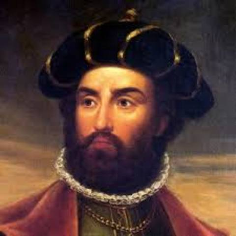 Vasco da Gama landed in India.