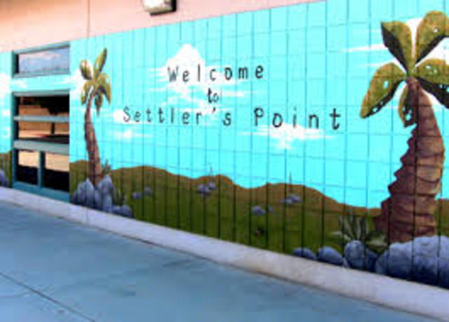 Starts Kindergarten at Settler's Point Elementary