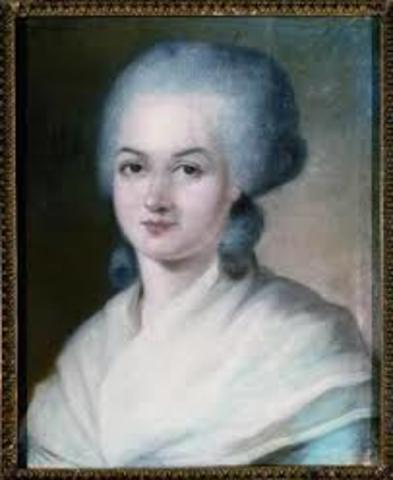 Olympe de gouges writes decleration of rights for woman