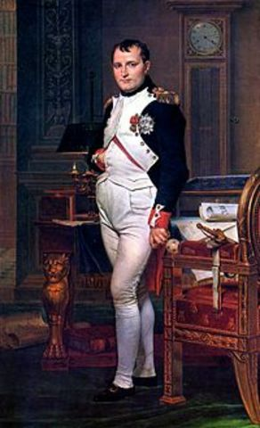 Napolean participates in coup d'etat that topples French government
