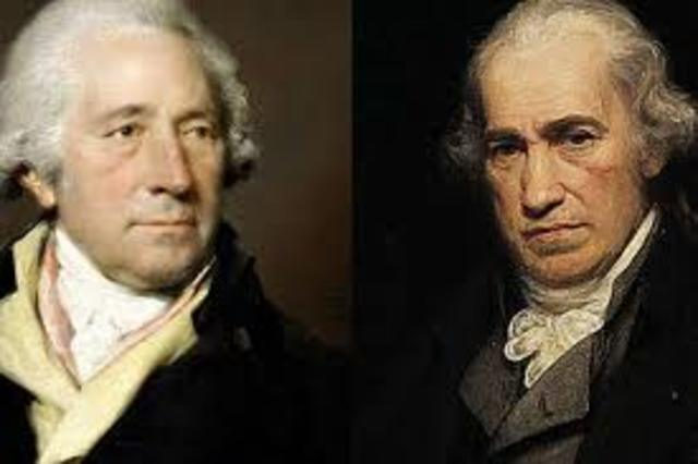 James Watt y Mathew Bolton