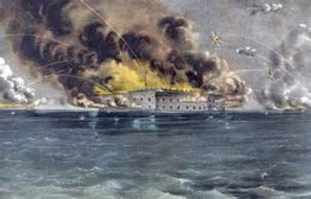fort sumter attacked