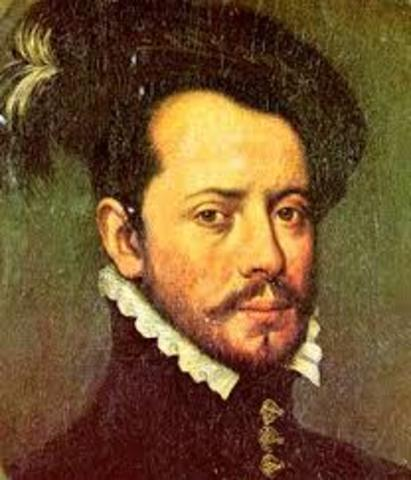 Hernán Cortés invaded Mexico.