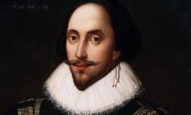 William Shakespeare is born.