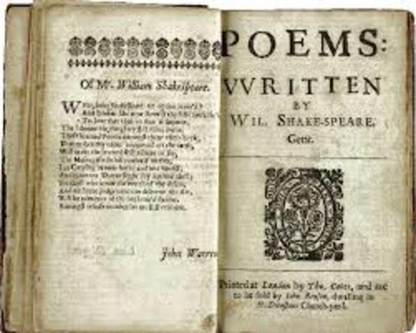 Shakespeare's sonnets are published.