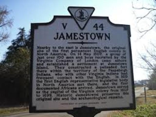 Jamestown, Virginia is first permanent English settelment.