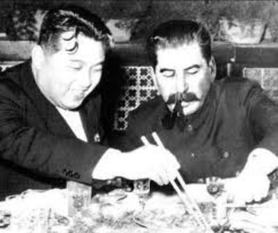 Stalin agreement to the invasion