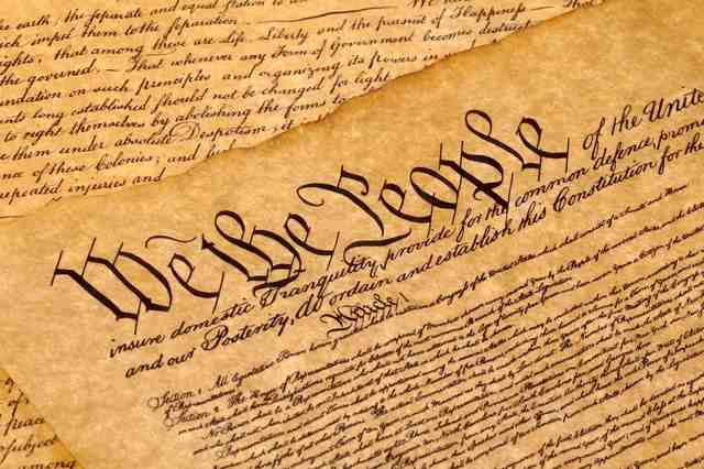 Constitution is ratified by the states