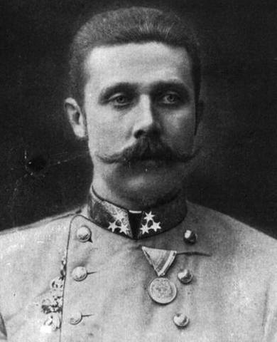 Archduke Franz Ferdinand Assassinated