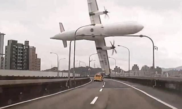 Transasia plane crash in Asia