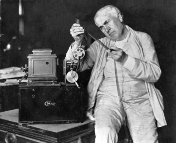 Thomas Edison and W.K. Dickson develop the Kinetoscope