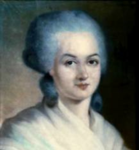 Olympe de gouges  writes declaration of rights for women