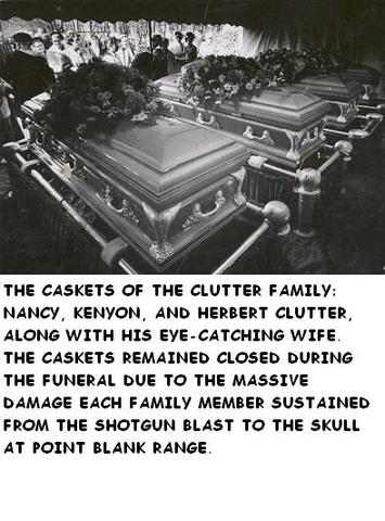 Clutter family funeral in Garden City