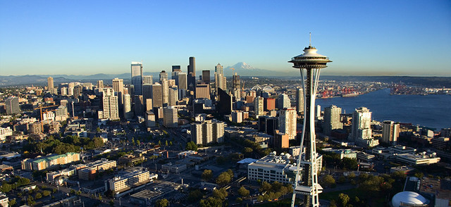 Goes to Seattles, Washington.