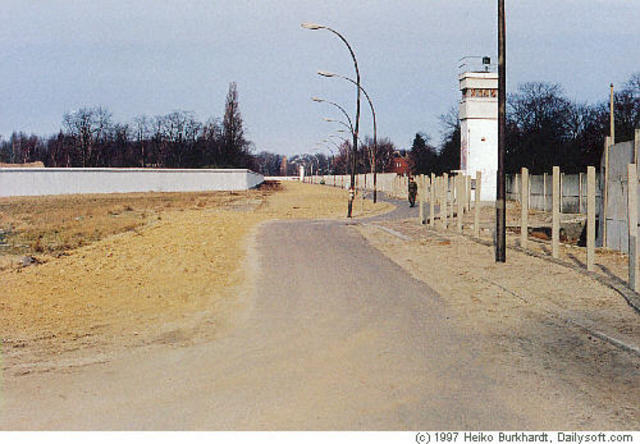 Destruction of the Berlin Wall