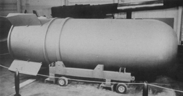 Truman authorised development of H-bomb
