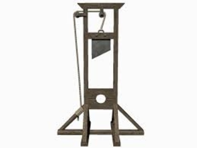 Joseph-Ignace Guilltin proposed use of guillotine