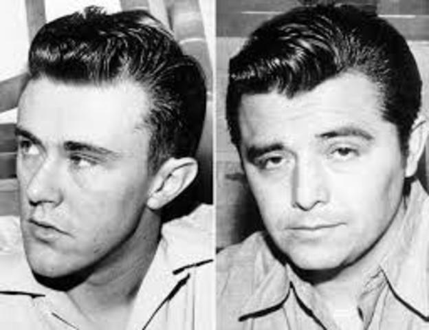 Killers Perry Smith and Richard Hickock on the run, fleeing to Mexico and eventually to Las Vegas.
