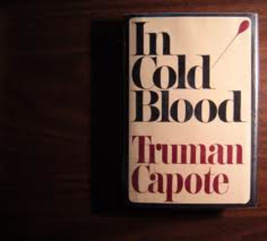 "First edition of ""In cold blood"" is published."