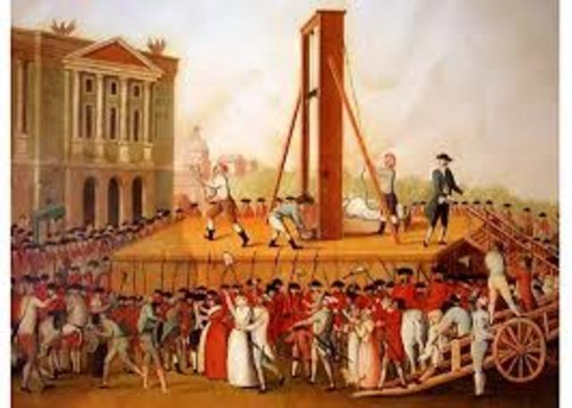 Joseph-Ignace Guilltin proposed the use of the guillotine