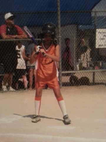 First Softball Game