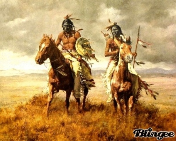 Blackfeet warriors