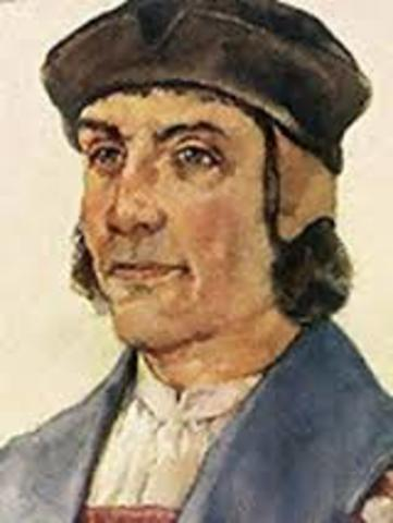 Bartolomeu Dias sailed around the Cape of Good Hope